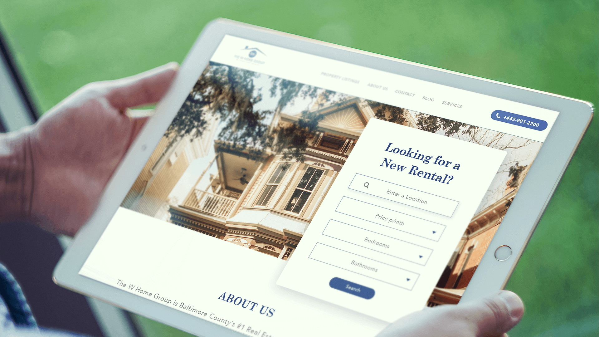 W Homes Group Landing Page